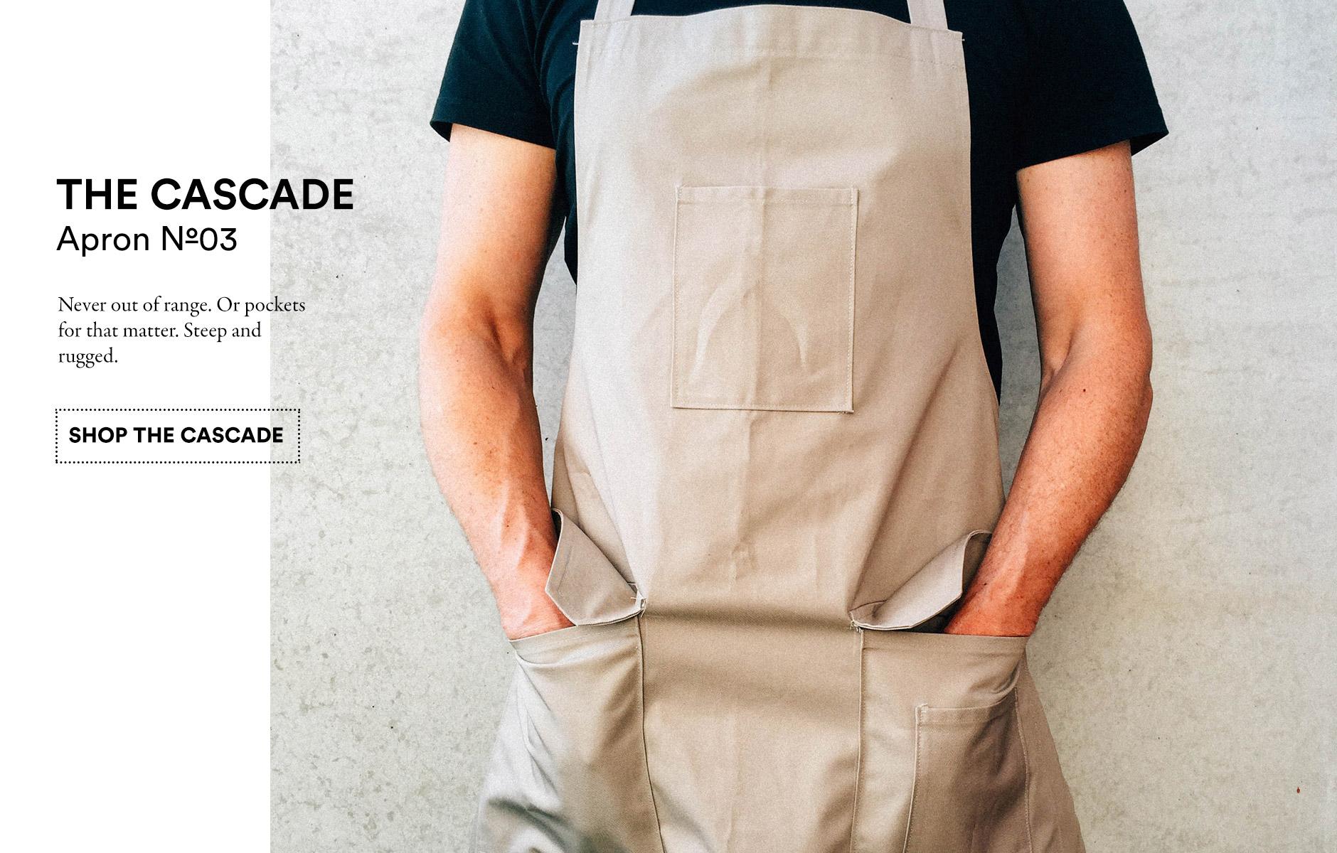 Upprvalley Stitch Cascade apron